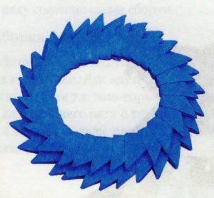 подставка для модульного лебедя из бумаги
